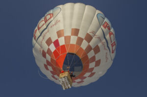 Lot balonem nad Tatrami