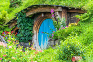 Hobbiton Movie Set Nowa Zelandia