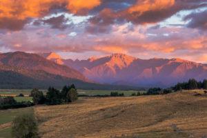 Krajobrazy Nowa Zelandia